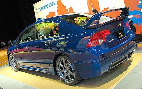 Click Image For Larger Version Name:  112_2006_sema_181z+2007_honda_Civic_MUGEN_Si_Sedan+rear_view Views: ...