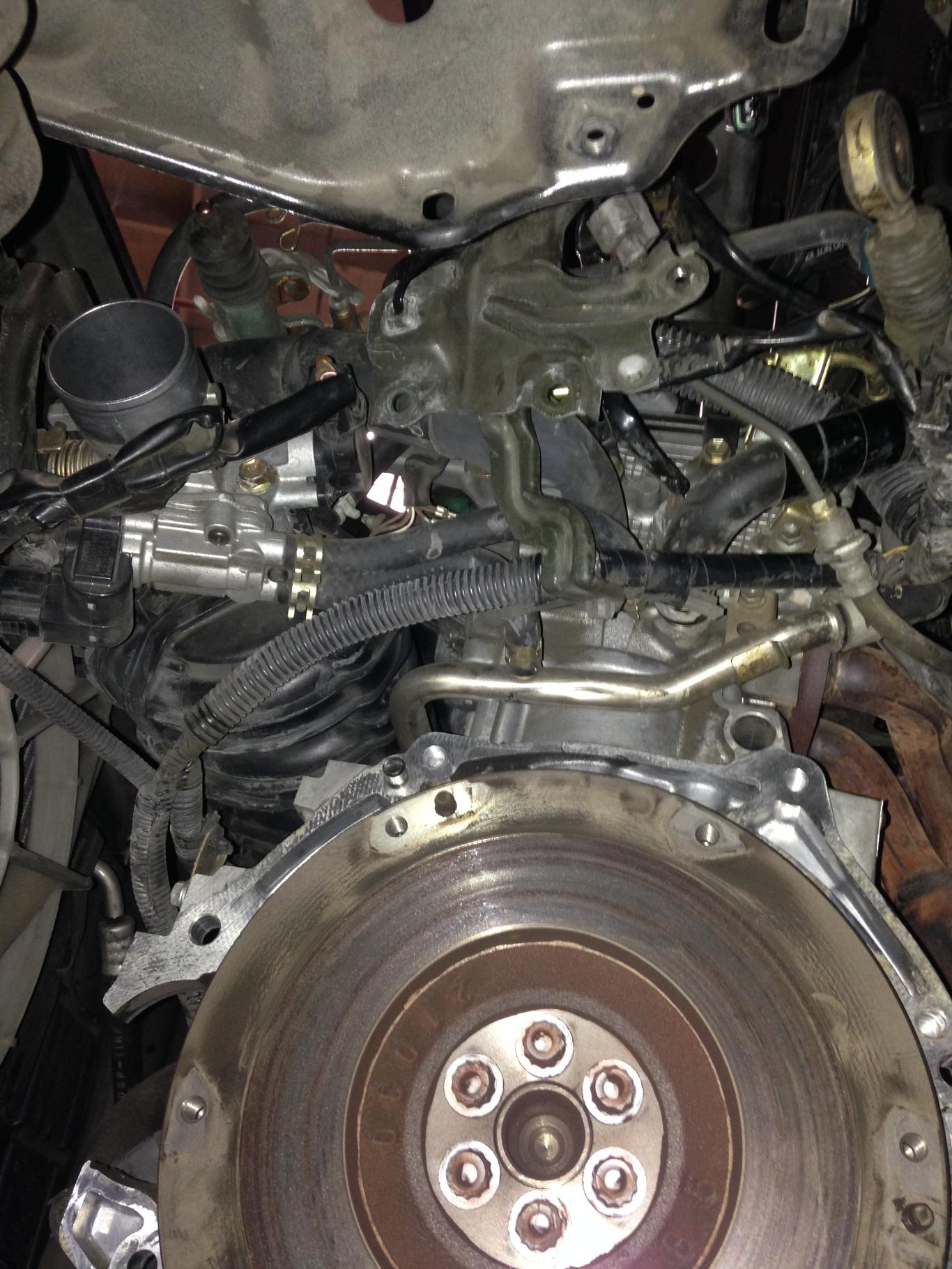 1st gen    scion    xb Clutch Replacement Experience or DIY