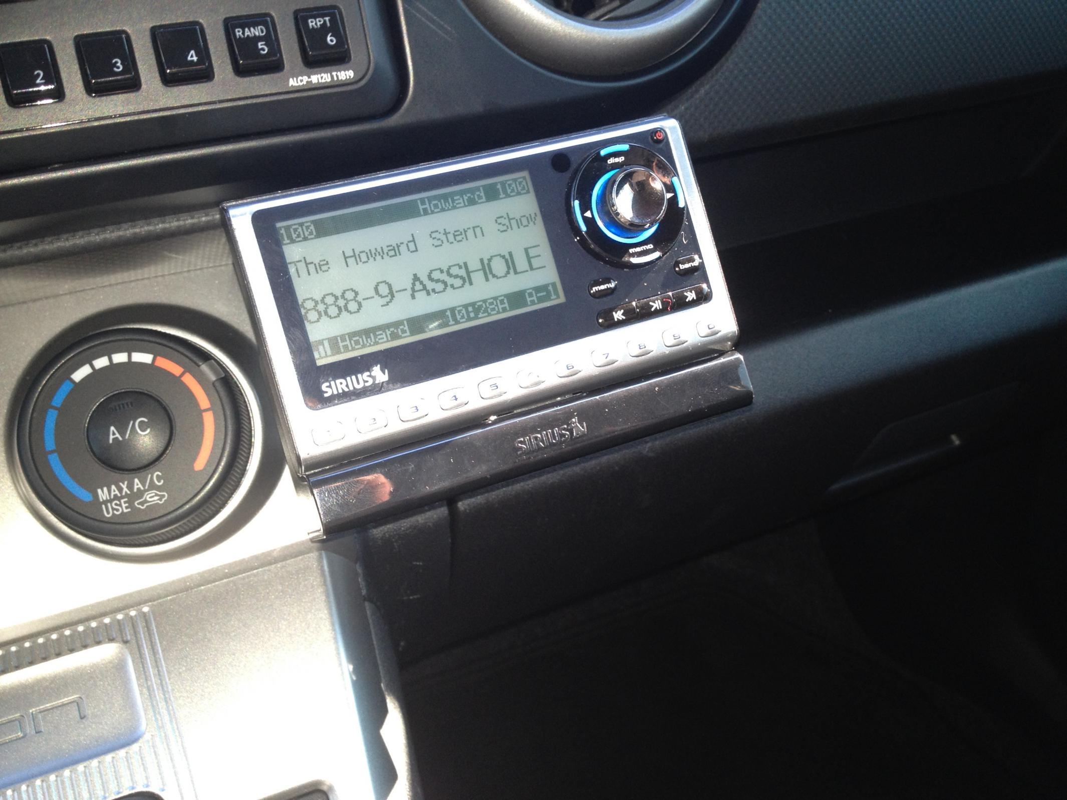 Where Do You Mount Your External Xm Sirius Radio Scion Xb Forum