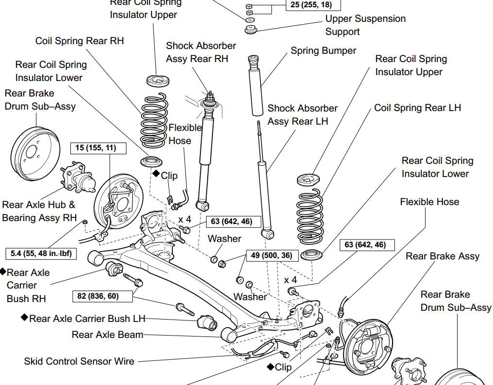 Front Suspension Diagram On Parts Of A 2004 Volvo C70 Engine Diagram