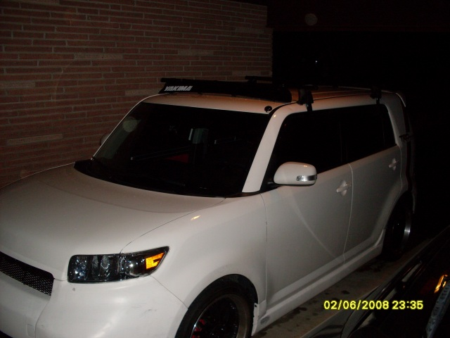 Yakima Roof Rack Installed Scion Xb Forum