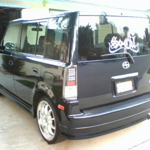 2005 Blue Scion Xb